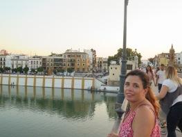 Not looking as glamorous, Sevilla