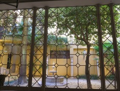 Courtyard at Museum of the Palacio de Condesa de Lebrija)