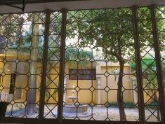 Courtyard at Museum of the Palacio de Condesa de Lebrija)