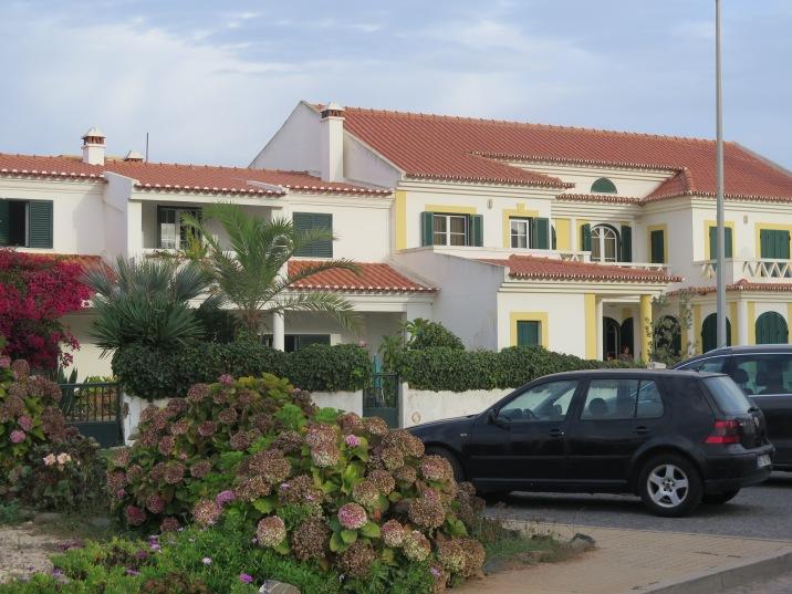 Lovely houses in the village, Zambujeira do Mar, Alentejo Portugal