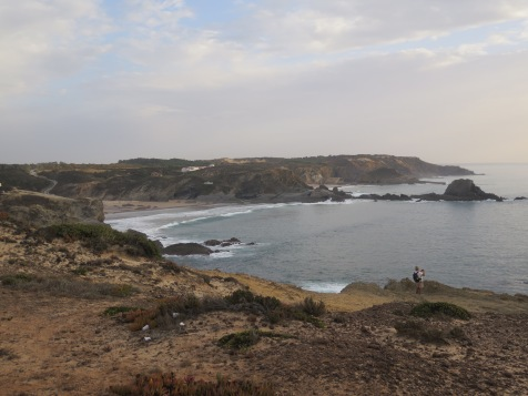 Beautiful coast at Zambujeira do Mar, Alentejo Portugal