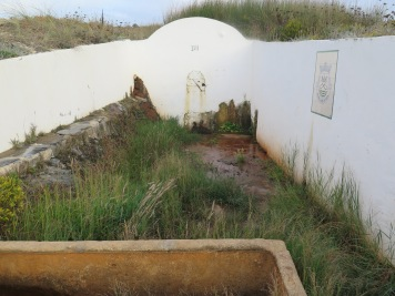 Old water tank at Zambujeira do Mar, Alentejo Portugal