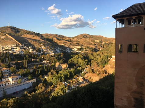View from the Alcazar, Granada