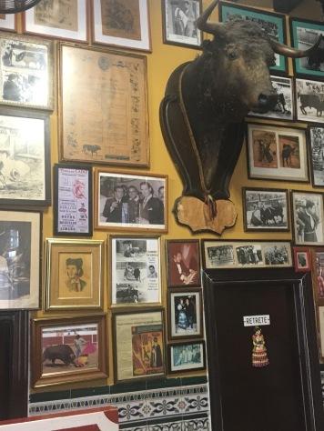 Memorabilia at Casa Manteca , Cádiz
