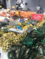 Seafood counter at Carrefour