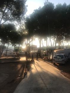 Our campsite Moraira