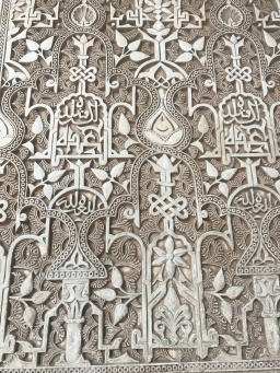 The detail was breath taking, in Nasrid Palace, Alhambra Granada