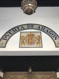Plaza de España, Puerta de Aragon
