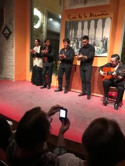Flamenco show in Seville, Casa de La Memoria