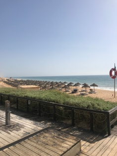 Beach at Vale Do Lobo