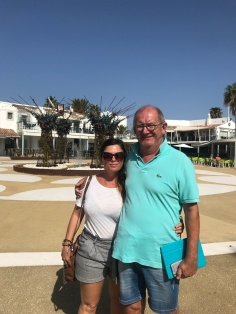 The sun was shining in Portugal, Vale Do Lobo