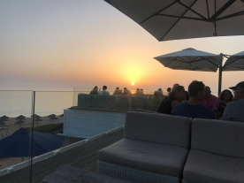 Sunset drinks at Maria's , Vale Do Lobo