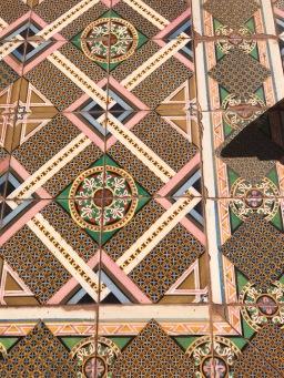 Tiles in Comillas