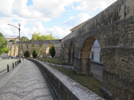 Roman aqueducts at Coimbra