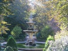 Royal Botanical Gardens in Coimbra