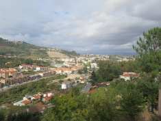 View from the camper stop in Lamego