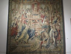 Tapestries in Lamego Musuem