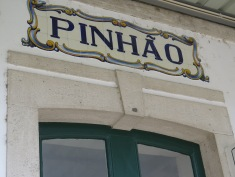 Pinhão train station