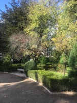 Royal botanical Gardens in Coimbra