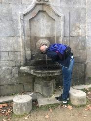 """The spring at """"Sanctuary"""" the Nossa Senhora dos Remédios"""