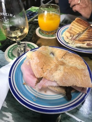 Lunch, Pinhão