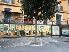 Beautiful mural in Candás