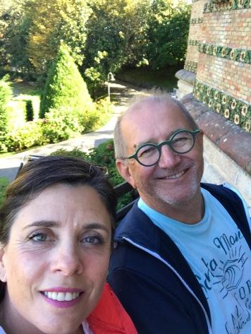 #selfie at El Capricho de Gaudi