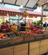 Wonderful array of tomatoes at Eataly Milan