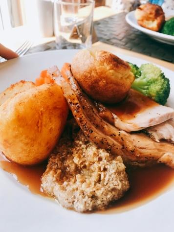Sunday lunch at Feughside Inn