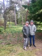 Dad and son at Inchmarlo , Banchory