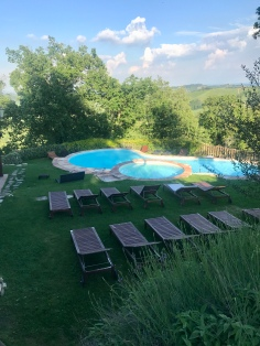 Pool at Antico Borgo di Tabiano