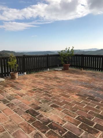 View from Restaurant at Antico Borgo Di Tabiano Castello