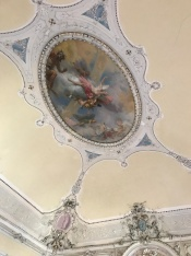 Ceiling in the Tabiano Castello