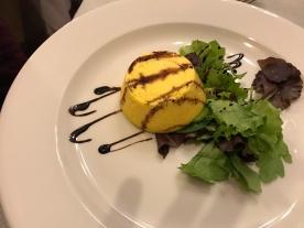 Parmesan Souffle, Restaurant at Antico Borgo Di Tabiano Castello