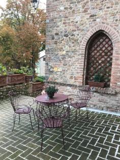 Restaurant at Antico Borgo Di Tabiano Castello