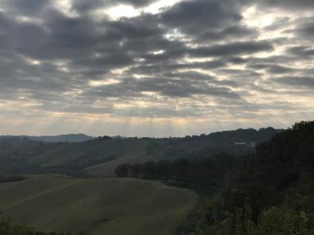 Views from god, Tabiano Castello, Italy