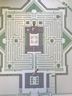 The map of the maze
