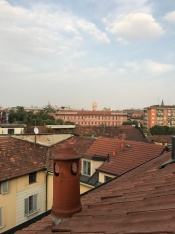 View from the apartment in Naviglio , Milan