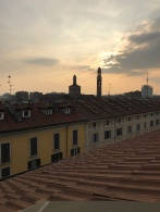 Roof top view for miles, Milan