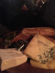 A little snack at Gordon's Wine Bar.