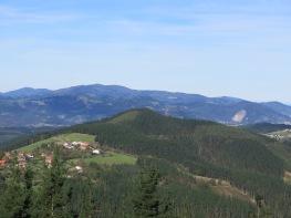 Basque Country looking towards Gernika, Spain
