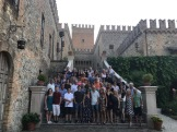 Group pic at Tabiano Castello