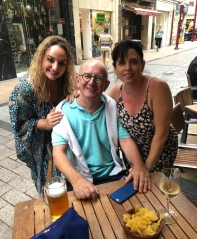 A chilled evening meeting up with Lexi who was walking the Camino