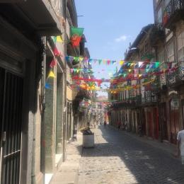 São João festival in Porto