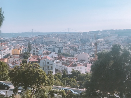 Looking over Lisboa