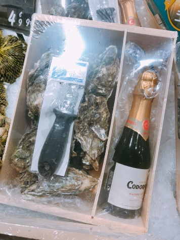 oyster and bubbles for E9.99!
