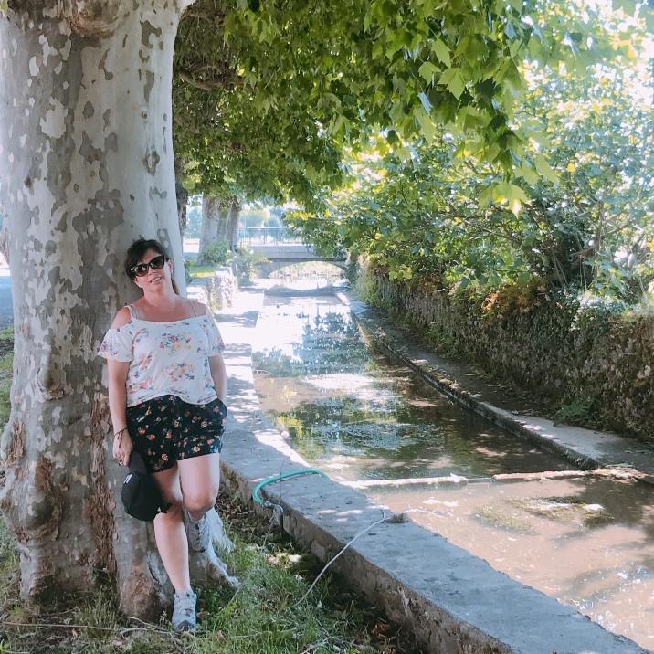 Walking into Saint-Bertrand-De-Comminges