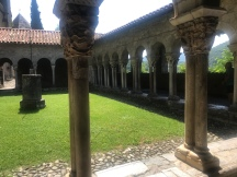 Cloisters at Cathedral Saint Marie -