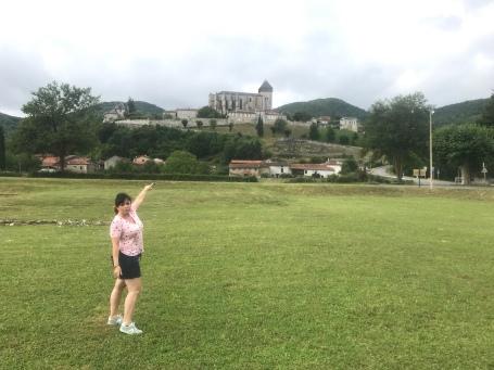 Exploring the Roman ruins in Saint-Bertrand-De-Comminges