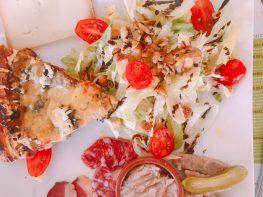 """Best """"tarte maison"""" i have ever tasted, in Fourcés France"""